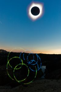 2017 solar eclipse glow rope
